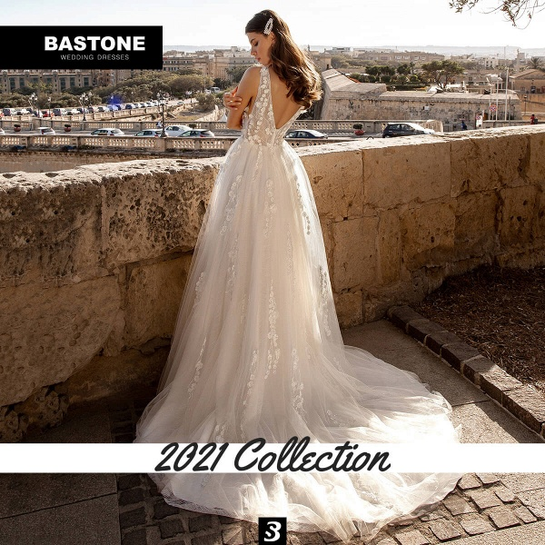 CN278L Wedding Dresses A Line NEW 2021 Collection_3