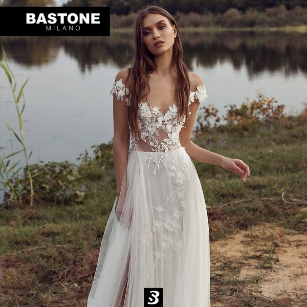 EC233L Wedding Dresses A Line Enchante Collection