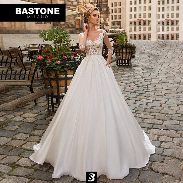 IC139L Wedding Dresses A Line Innocenza Collection_1