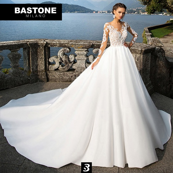 IC018L Wedding Dresses Ball Gown Innocenza Collection_1