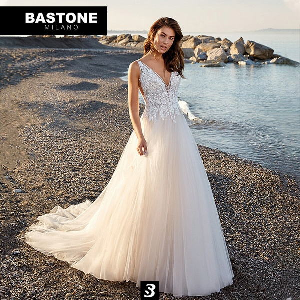 IC146L Wedding Dresses A Line Innocenza Collection_1