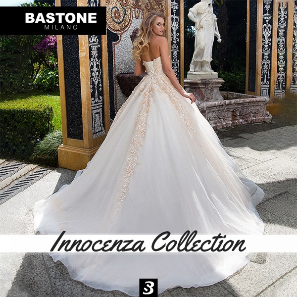 IC127L Wedding Dresses A Line Ball Gown Innocenza Collection_4