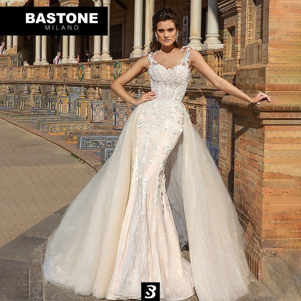 NC215L Wedding Dresses 2 in 1 Mermaid NEW 2021 Collection_1