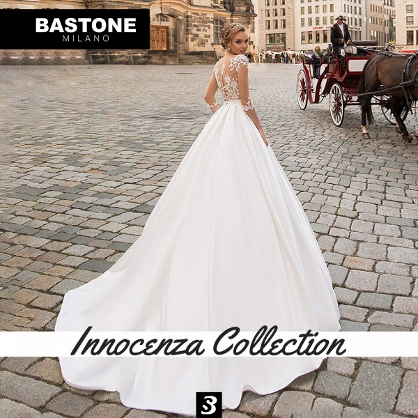 IC139L Wedding Dresses A Line Innocenza Collection_2