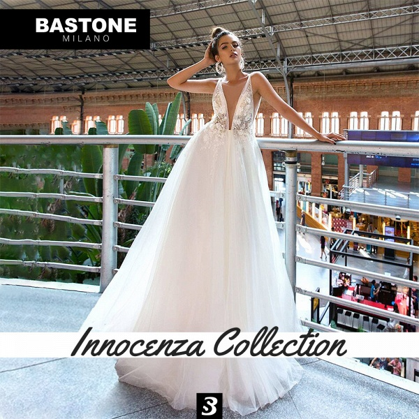 IC144L Wedding Dresses A Line Innocenza Collection_5