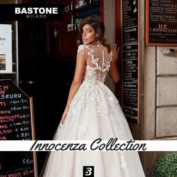 IC136L Wedding Dresses A Line Innocenza Collection_4