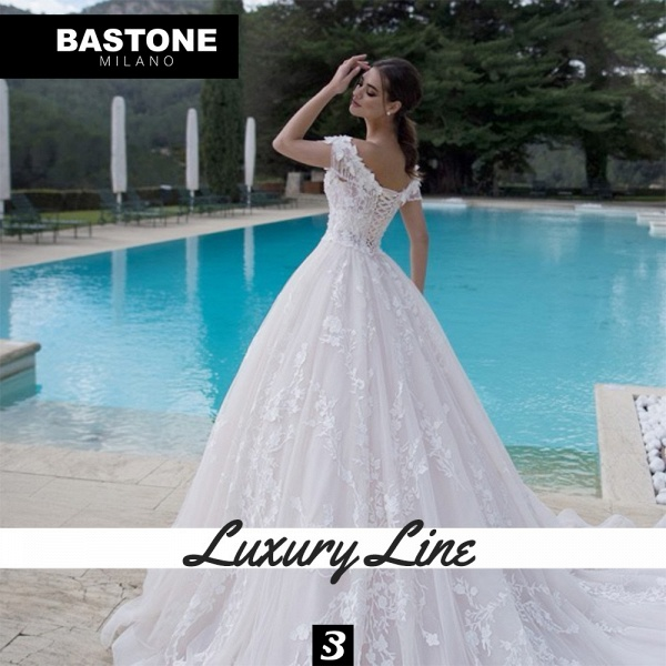 LL045L Wedding Dresses Ball Gown Luxury Line_5