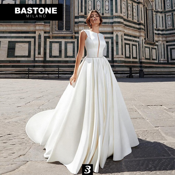 CC117L Wedding Dresses A Line Confidence Collection_1