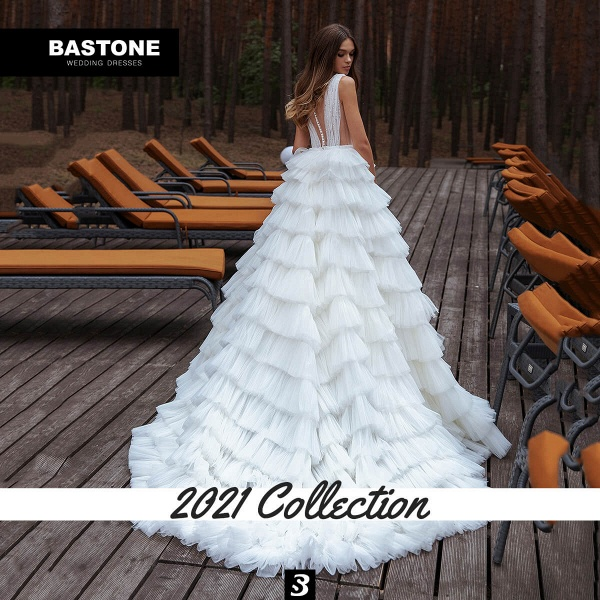 CN263L Wedding Dresses A Line Ball Gown NEW 2021 Collection_2