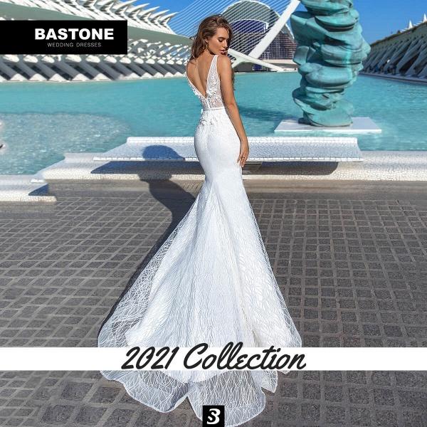 CN292L Wedding Dresses Mermaid NEW 2021 Collection_3