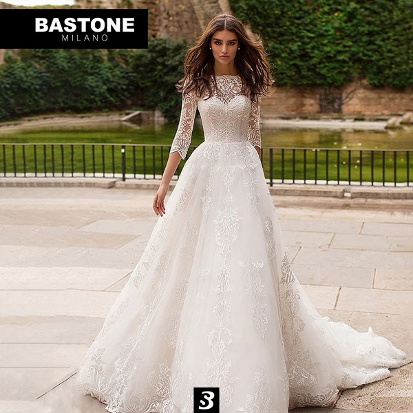 IC156L Wedding Dresses A Line Innocenza Collection_1