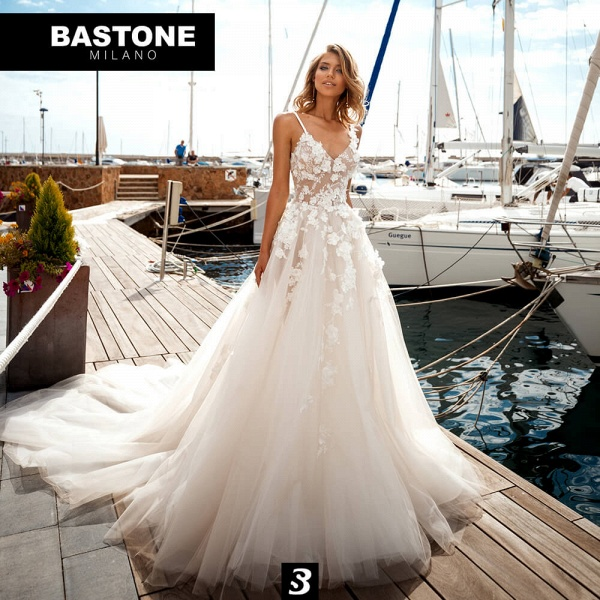 EC245L Wedding Dresses A Line Enchante Collection