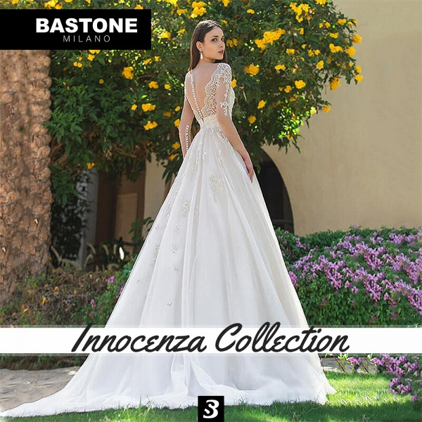 IC153L Wedding Dresses A Line Innocenza Collection_5