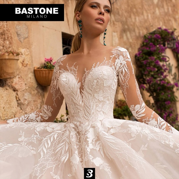 CN702L Wedding Dresses A Line Ball Gown Confidence Collection