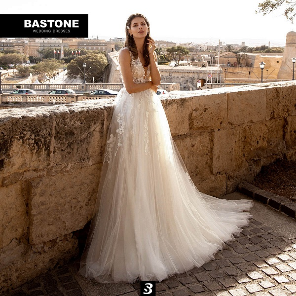 CN278L Wedding Dresses A Line NEW 2021 Collection_1