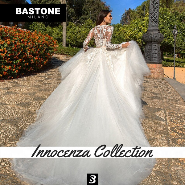 IC122L Wedding Dresses A Line Innocenza Collection_3