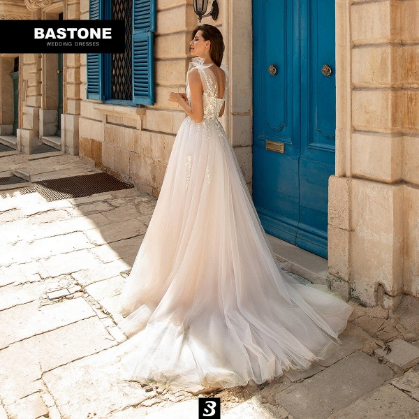 CN261L Wedding Dresses A Line NEW 2021 Collection_1
