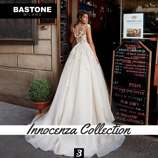 IC136L Wedding Dresses A Line Innocenza Collection_2