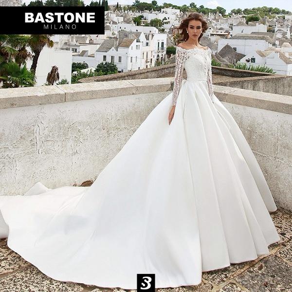 CC102L Wedding Dresses A Line Confidence Collection_1