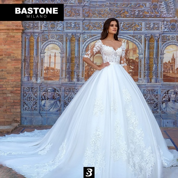 IC028L Wedding Dresses Ball Gown Innocenza Collection_1
