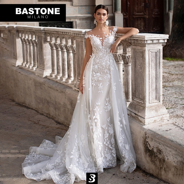 NC213L Wedding Dresses 2 in 1 Mermaid NEW 2021 Collection_1