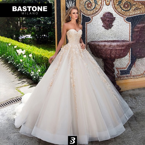 IC127L Wedding Dresses A Line Ball Gown Innocenza Collection_1