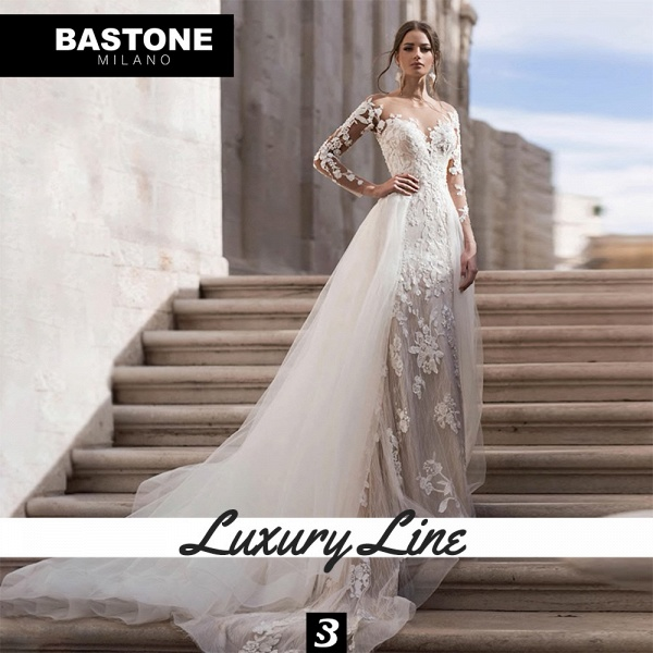 LL038L Wedding Dresses 2 in 1 Luxury Line_6