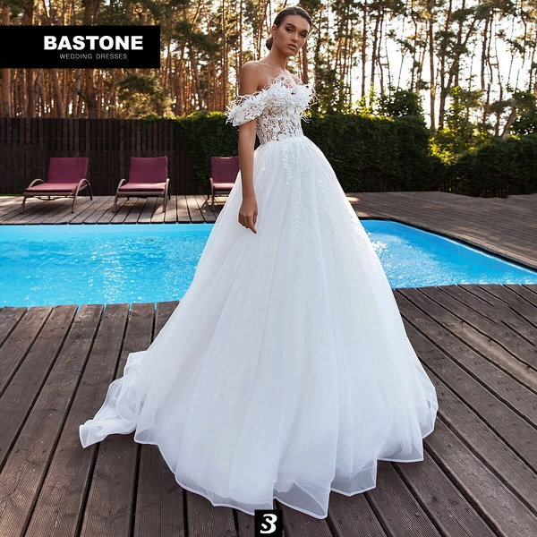 CN270L Wedding Dresses A Line NEW 2021 Collection