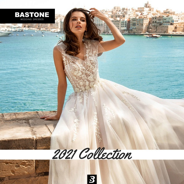 CN261L Wedding Dresses A Line NEW 2021 Collection_3