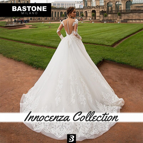 IC161L Wedding Dresses A Line Innocenza Collection_4