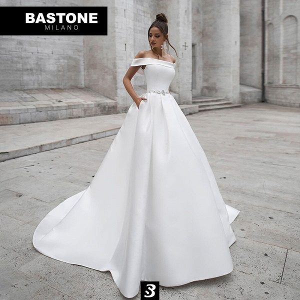 IC121L Wedding Dresses A Line Innocenza Collection_1