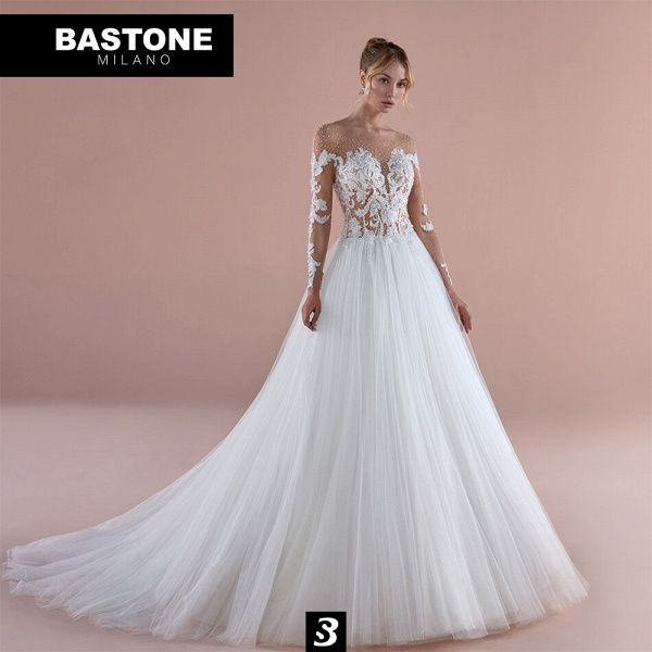 NC064L Wedding Dresses A Line NEW 2021 Collection_1