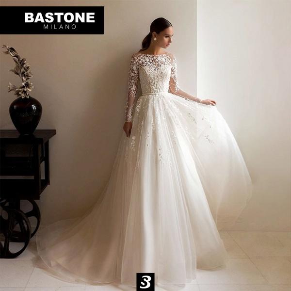 DRESS019L Wedding Dresses A Line Innocenza Collection_1