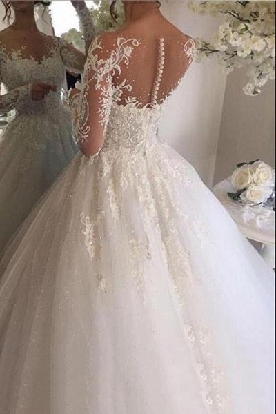 SDBC5631 Gorgeous White Wedding Dresses with Sleeves_2