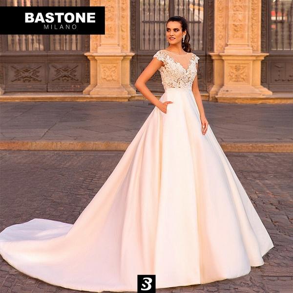 CC101L Wedding Dresses A Line Confidence Collection_1