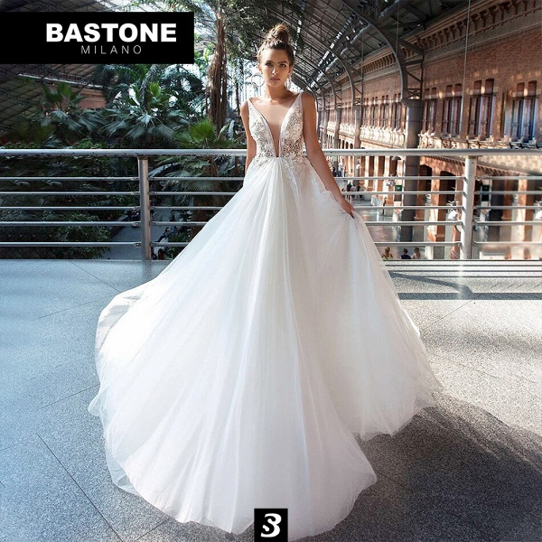 IC144L Wedding Dresses A Line Innocenza Collection