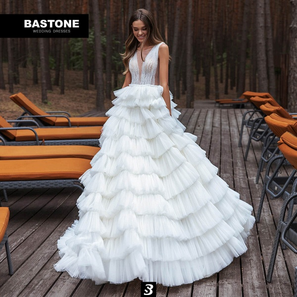 CN263L Wedding Dresses A Line Ball Gown NEW 2021 Collection_1