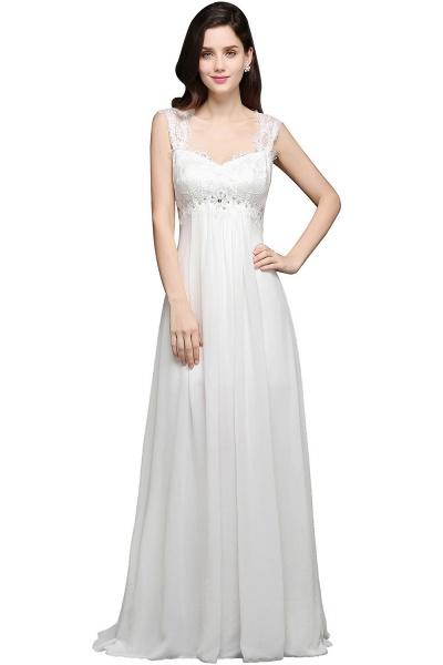 Sleek Sweetheart Chiffon A-line Evening Dress_2
