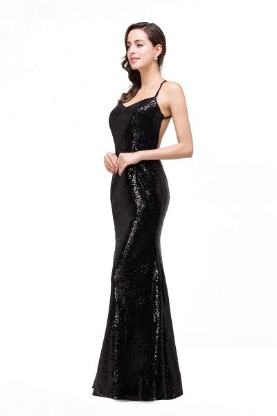 EMILY | Mermaid Sleeveless Sweetheart Floor-length Prom Dress with Sequins_6