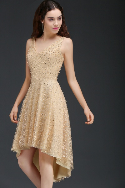 Attractive Straps Satin A-line Homecoming Dress_4