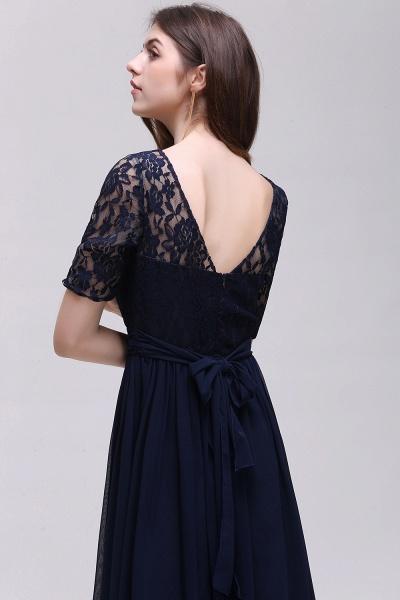 Fascinating Jewel Chiffon A-line Evening Dress_14