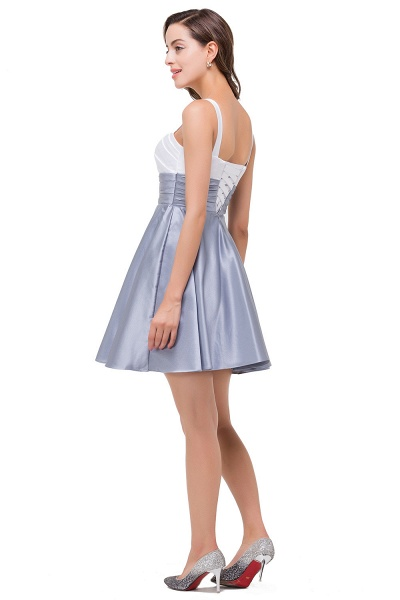 EVANGELINE   A-line Sleeveless Sweetheart Short Chiffon Prom Dresses_5