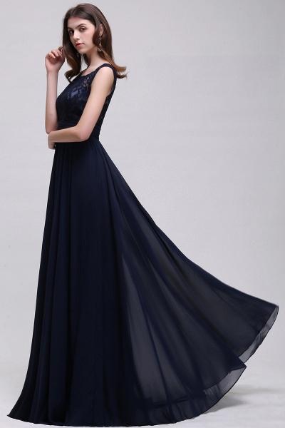 Eye-catching Scoop Chiffon A-line Evening Dress_8