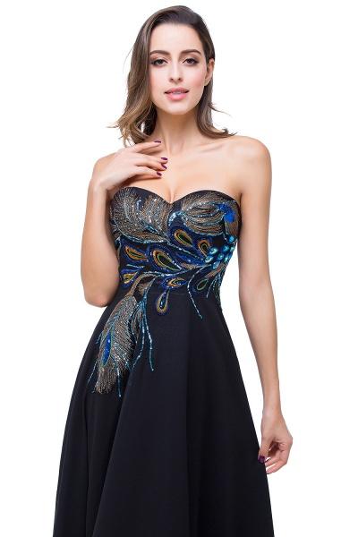 Exquisite Sweetheart Chiffon A-line Evening Dress_6
