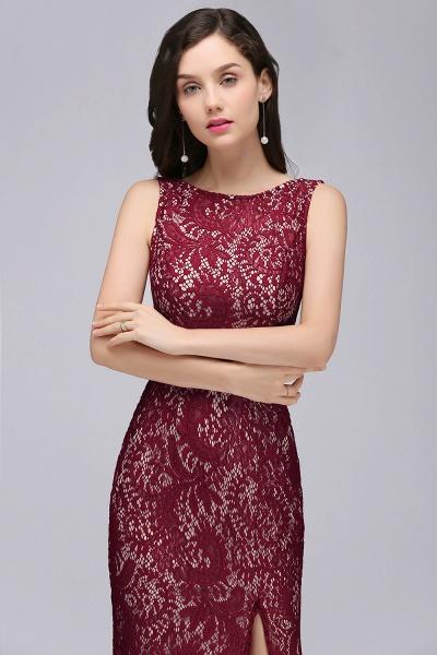 Modest Jewel Lace Mermaid Evening Dress_5