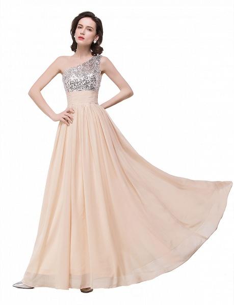 A-line Sequined Floor-length Chiffon Evening Dress_8
