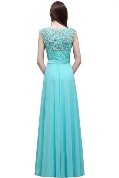 Affordable Jewel Chiffon A-line Evening Dress_3