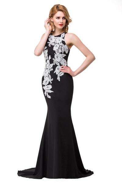 ERIN   Mermaid Crew Sleeveless Floor-Length Prom Dresses With Appliques_9