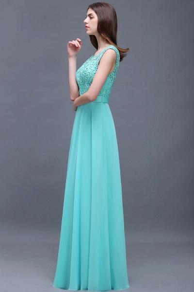 Affordable Jewel Chiffon A-line Evening Dress_4