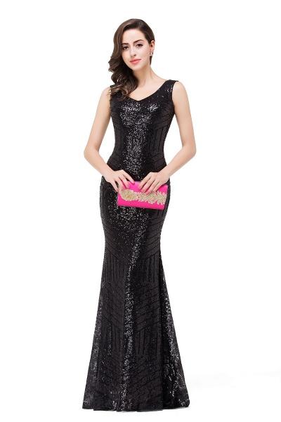 EVERLEIGH | Mermaid V-neck Sleeveless Floor-Length Sequins Prom Dresses_7